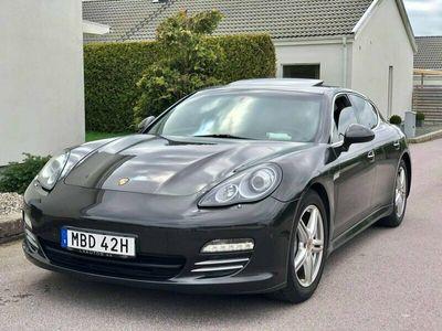 begagnad Porsche Panamera 4S V8 GTS Sportavgassystem