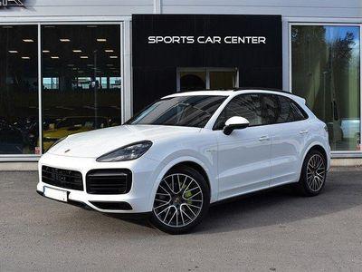 begagnad Porsche Cayenne E-Hybrid SportDesign Panorama