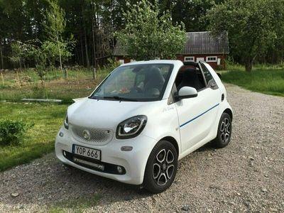begagnad Smart ForTwo Cabrio 1.0 Euro 6