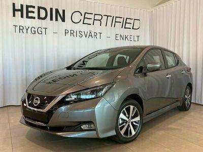 begagnad Nissan Leaf TEKNA 40 kWh 2021 DEMOBIL 2021, Halvkombi Pris 369 900 kr