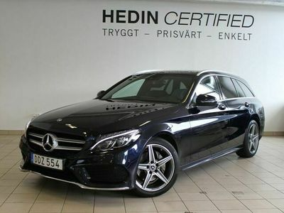 begagnad Mercedes 220 - Benz C - Klassd AMG, Panorama, Värmare, Drag,