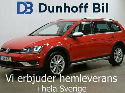 begagnad VW Golf Alltrack TDI 184 4Motion DSG Dragkrok 2015, Personbil Pris 168 900 kr