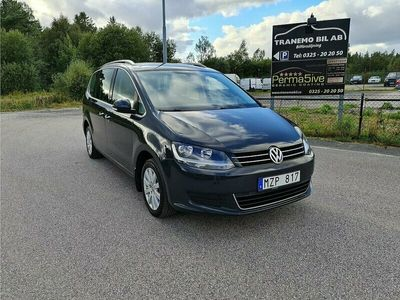 begagnad VW Sharan 2.0 TDI BlueMotion 7-sits (140hk)