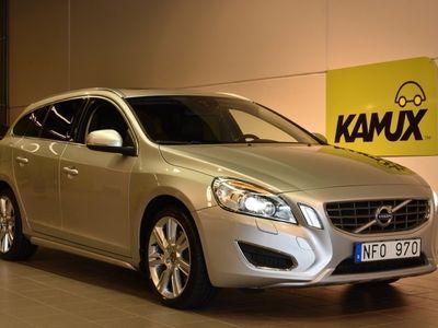 begagnad Volvo V60 D4 AWD 163hk Summum Drag Skinn Navi D-Värm Taklucka VOC
