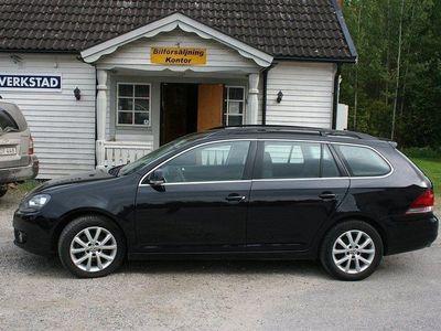 begagnad VW Golf Kombi 1,6 låg skatt