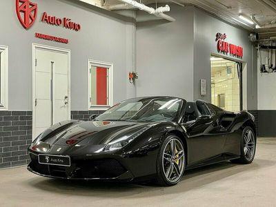 begagnad Ferrari 488 SPIDER KOLFIBER LIFTING SV-SÅLD SE SPEC 670hk