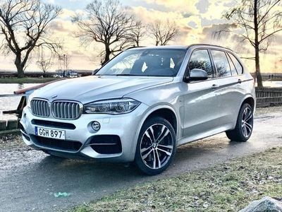 begagnad BMW X5 M50d M-SPORT PANO 7-SITS DRAG