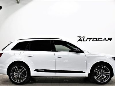 used Audi Q7 Sport Ed, S-Line 7-sits 3.0 V6 Värmare Krok