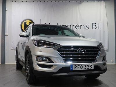 begagnad Hyundai Tucson 1.6 T-GDI 4WD Premium (177hk) Nav / Panorama