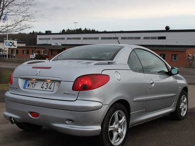 begagnad Peugeot 206 CC 1,6 GRIFF CAB -05