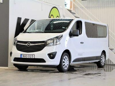 begagnad Opel Vivaro 1,6 CDTi | 9-Sits | Värmare | Dra