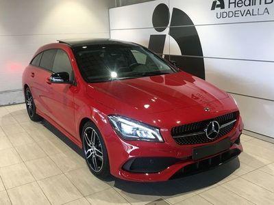 brugt Mercedes CLA180 Shooting Brake Demobil, SE Edition, Premiumpaket, AMG SKY, Kombipaket