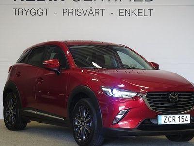 begagnad Mazda CX-3 Optimum AWD 2.0 2018, SUV 209 000 kr