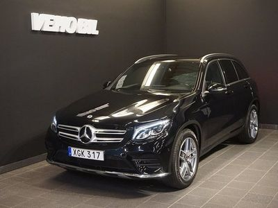 begagnad Mercedes GLC220 d 4-Matic AMG Värmare Aut Panorama Drag Nav