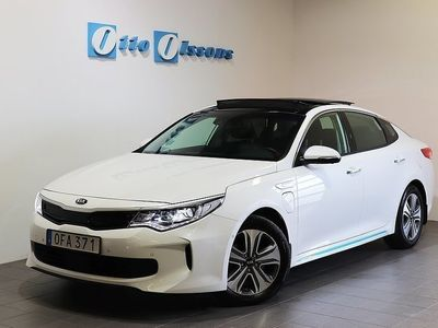 begagnad Kia Optima Hybrid P-HEV Sedan Aut, Nav, Panorama