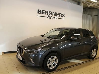 begagnad Mazda CX-3 2.0 Vision Bensin Manuell 120hk (Drag+V-Hjul+Motorv)