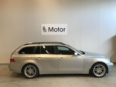 begagnad BMW 530 i Aut Drag Skinn PDC Xenon -06