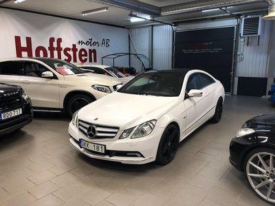 begagnad Mercedes E350 CDI Coupé BlueEFFICIENCY 7G-Tronic 231hk