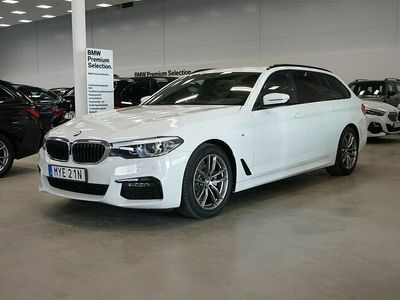 begagnad BMW 520 d xDrive Touring M Sport Navi Värmare Drag HiFi Ljud