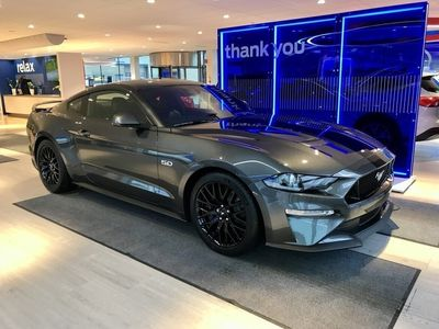 begagnad Ford Mustang GT 5.0 V8 (450hp) Fastback -Aut