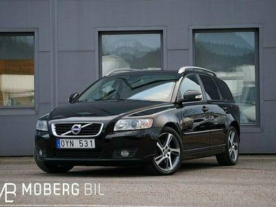 begagnad Volvo V50 D3 150hk Classic Momentum Skinn Ny kamrem
