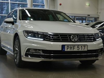 begagnad VW Passat TDI R-Line 4M.Executive D-Värmare Active info display 190hk