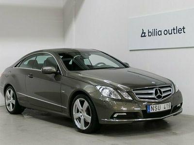 begagnad Mercedes E250 Coupé BE BlueEFFICIENCY 204hk Navi B-kamera