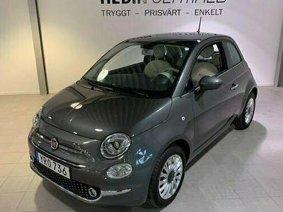 begagnad Fiat 500 1.2 LOUNGE GLASTAK 2018, Halvkombi Pris 99 900 kr