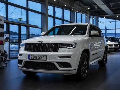 begagnad Jeep Grand Cherokee S 3.6 V6 4WD 290hk Navi Panorama Quadra