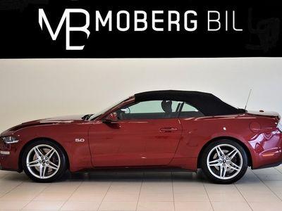 brugt Ford Mustang GT 5.0 V8 Cab 450hk LÅGA SKATTEN -18