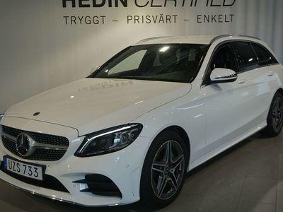 begagnad Mercedes C220 220d Aut 194hk AMG Styling // Drag // Premiumpaket