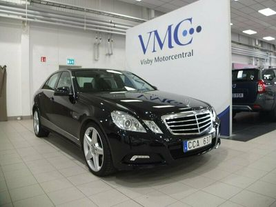 begagnad Mercedes E250 CDI BE BlueEFFICIENCY 5G-Tro