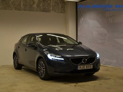 begagnad Volvo V40 T3 Business Advanced ader Parkeringskamera bak, Navigation, Förarstol elmanövrerad, Klimatpaket On call 2018, Kombi 194 500 kr