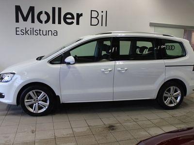 begagnad VW Sharan TDI 150HK 7sits DSG Panorama Drag