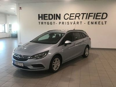 used Opel Astra Sports Tourer 1.4 EDIT Manuell, 125hk, 2018