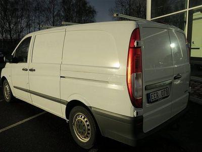 begagnad Mercedes Vito 113 CDI 136hk Lång *verkstadsinredning*