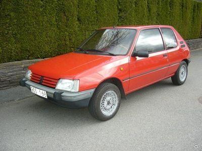 begagnad Peugeot 205 XR -91