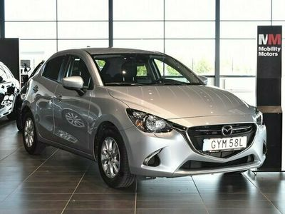 begagnad Mazda 2 halvkombi 5-dörrar 1.5 SKYACTIV-G 90hk Euro 6 Backkamera bensin automat Grå