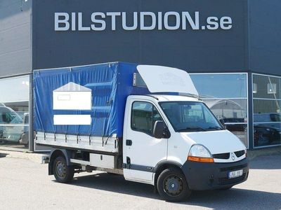 begagnad Renault Master 2.5 dCi,Flakbil med Kapell 2009, Transportbil 59 000 kr