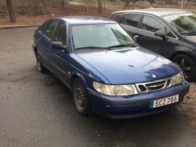 begagnad Saab 9-3 till högstbjudande -98