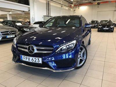 begagnad Mercedes C220 BlueTEC Kombi // S o V Hjul // 7G-TRONIC PLUS // AMG Styli