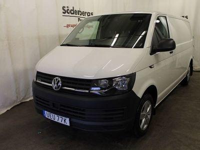 begagnad VW Transporter 2,0 TDI 4M DSG 340 lång Värmare & Drag 2019, Transportbil 389 875 kr