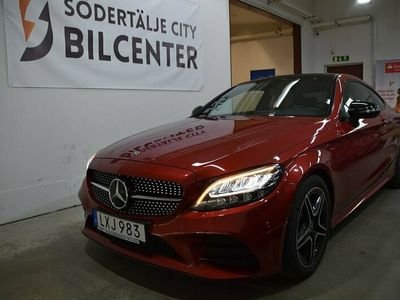 begagnad Mercedes C200 Coupé AMG Sport 9G-Tronic Euro 6 184hk Svensksåld