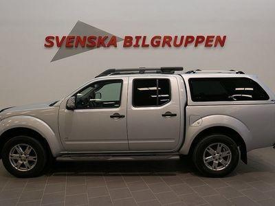 used Nissan Navara 3.0 DCi V6 Doublecab Aut Drag Läder LM S+V-Hjul
