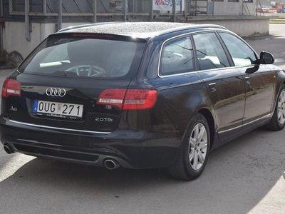 begagnad Audi A6 AVANT 2,0 TDI 170HK S-LINE -09