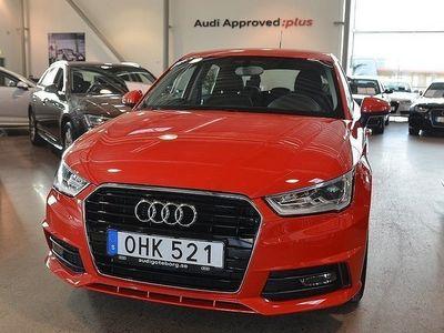 begagnad Audi A1 Sportback 1.0 TFSI 95 HK S-Line/ Privatleasing 2394:-