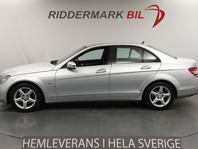 begagnad Mercedes C180 CGI BlueEfficiency W204 (156hk) Avantgarde