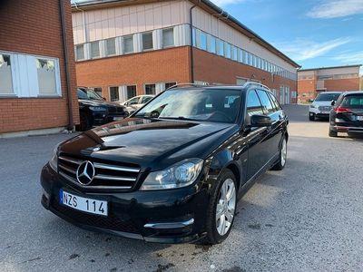 begagnad Mercedes C220 T CDI 170hk AUT Edition Drag Toppskick