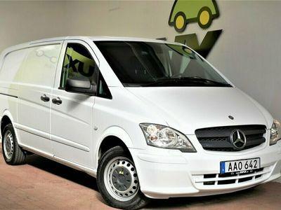 begagnad Mercedes Vito 113 CDI | Lång | Drag | S&V hjul |