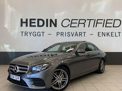 gebraucht Mercedes E220 Aut 4MATIC Sedan AMG Styling // Panorama // Värmare